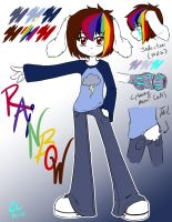 .:Rainbow Ref:. by caninelove