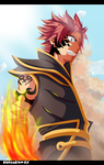 fairy tail natsu by execution97