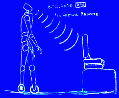 Wheel android - remote control by DiggerShrew