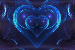 blue heart II by schnuffibossi1