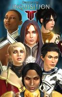 Women of The Inquisition: Dragon age. by NemoNova