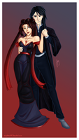Snape and Star commission by blindbandit5
