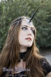 Black Unicorn Princess Circlet by DaisyViktoria