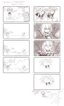 Comic: The Squall in Kingdom Hearts Squalid 1 by kitsunenohoshi