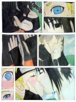 Surprise Kiss-Sasunaru by sugarrushfox