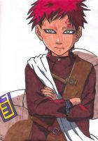 Gaara by Ilovecaseclosed