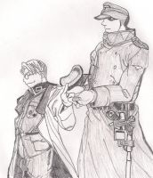 Major and Captain by Maassi