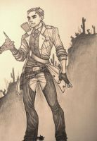 Cowboy Assassin by coyotie