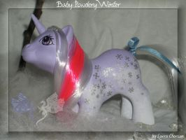 Baby Powdery Winter by LarraChersan