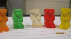 starting a gummy bear cult by DevilKitty133