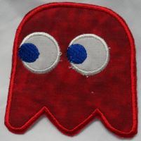 Blinky Iron On Patch by quiltoni