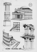 Roman Architecture by dedeyutza
