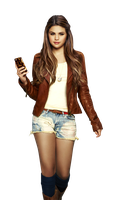 Selena Gomez PNG [Case-Mate] by anime1991