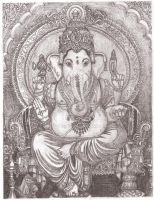 Lord Ganesha by leannew27