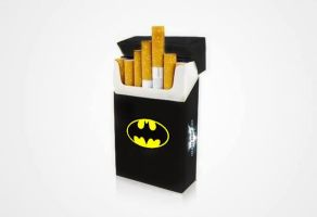 Batman Smokes by SAMURAi-GR