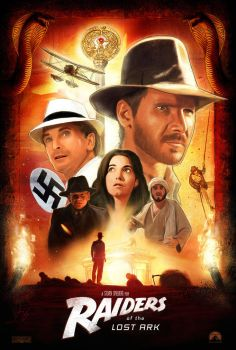 Raiders of the Lost Ark Poster - UPDATED by brockchandler
