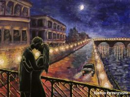 Lovers in the night by eugenia-89