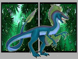 Jungle Raptor by All-Crazy-Reptiles