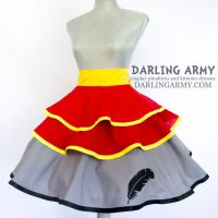 Dumbo Disneybound Cosplay Skirt by DarlingArmy