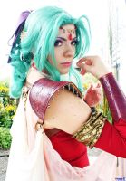 Terra Branford Cosplay of FF6 and Dissidia by Kapalaka