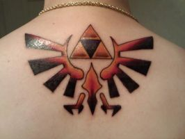 Triforce Tattoo by Stazik