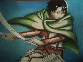 Young Corporal Levi by haru4lavi
