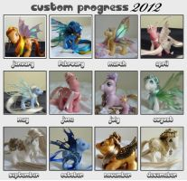 pony progress 2012 by thebluemaiden