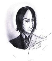 Half Blood Snape by justeenx