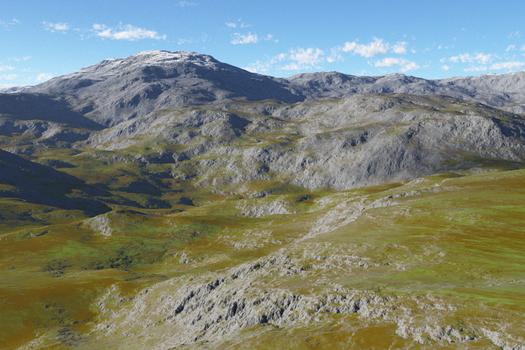 Terrain by Ian-Parberry