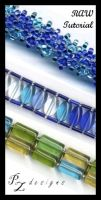 Beading Tut: Right Angle Weave by PurlyZig