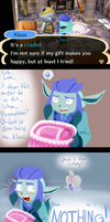 PKMC: An awkward gift. by Bulbiekins