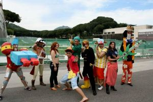 One Piece Cosplay Mugiwara's Crew! 2 years later by NamiTheQueen13