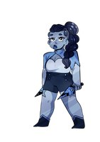 SU: Sodalite by Ask-the-CandleTwins