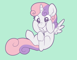 Sweetie Bellicorn by Pixel-Prism