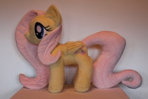 Fluttershy Plush by  PlushieScraleos by GmanCommand