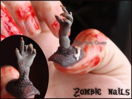 Zombie Nails by Ninails