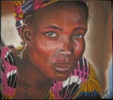 African Study 1 by LilithVallin