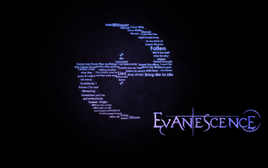 Evanescence Wallpaper by MajorasKeyblade