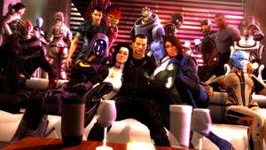 Shepard's Chill Party by LordHayabusa357