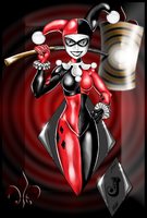 Harley Quinn by draconiangem