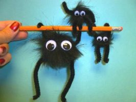 Large and Small Soot Sprites! by Linksliltri4ce