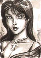 Death ACEO 010412 by ChrisMcJunkin