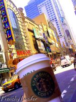 Starbucks In NYC by HLea33