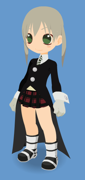 Maka Albarn Beta Kawaii by CharonTheShadow