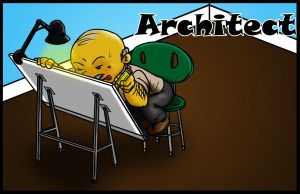 2 of 50 Architect Profession by jornas