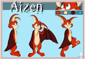Aizen reference 2011 by Nightdoodles