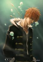 Ichigo, Bleach by KostanRyuk