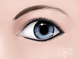 Eye practice :3 by xNiallersPotatox