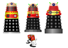 Dalek Competition Example 1, Eggman by sonamy-666