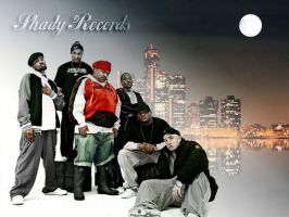 Shady Records D12 by ShadyKids